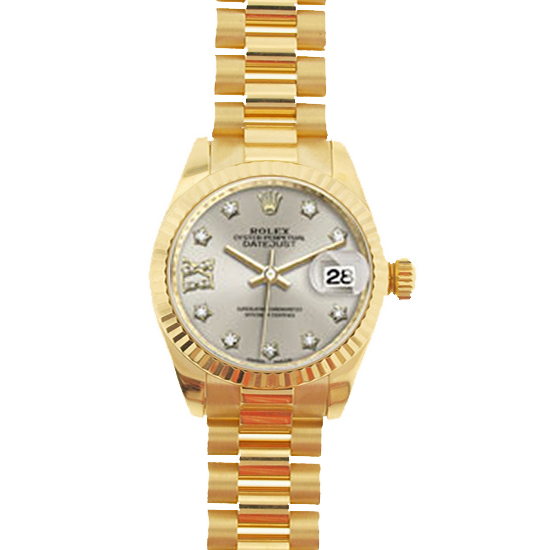 Rolex Lady President 28mm Model 279178 Never-Worn