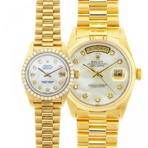 His & Hers President Watches 90's Model