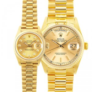 His & Hers Datejust Watches Model
