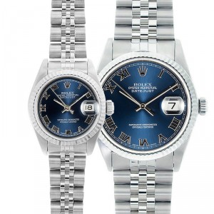 His & Hers Datejust Watches 90's Model