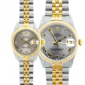 His & Hers Datejust Watches 90's Models