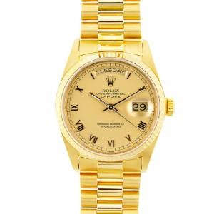 Rolex Day-Date President 80's Model 18038