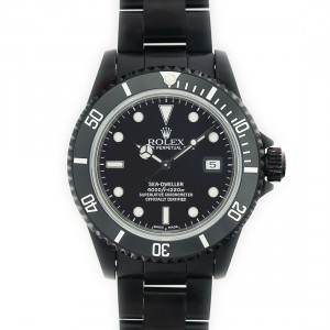 Rolex PVD Sea-Dweller 2000's Model 16600