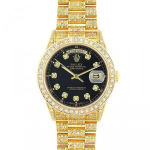 Rolex President 18K Yellow Gold Fully Loaded 18038