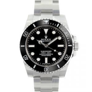 Rolex Submariner No Date Model 114060 Never-Worn